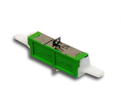 Adapter światłowodowy E2000/APC, SM, Simplex
