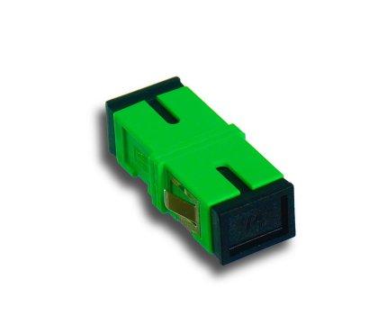 Adapter światłowodowy SC/APC, SM,Simplex Flangeless