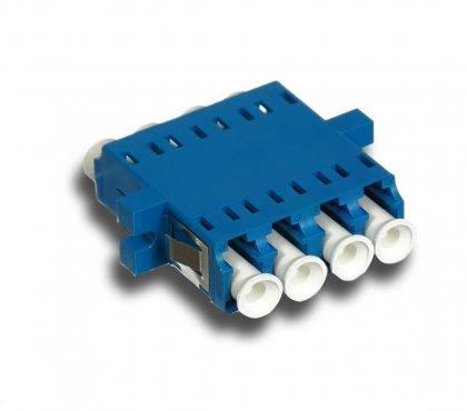 Adapter światłowodowy LC/PC, SM, Quad
