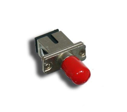 Adapter światłowodowy hybrydowy SC/PC-ST/PC, SM, Simplex