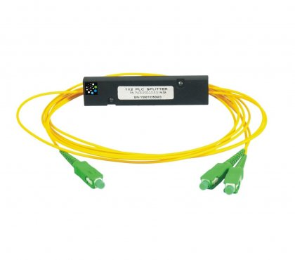 Splitter PLC 1x2 50/50 ABS 1m 2,0mm SC/APC