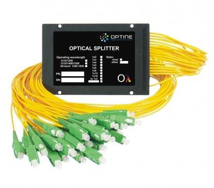 Splitter 1x64 PLC ABS 2,0mm 1m SC/APC