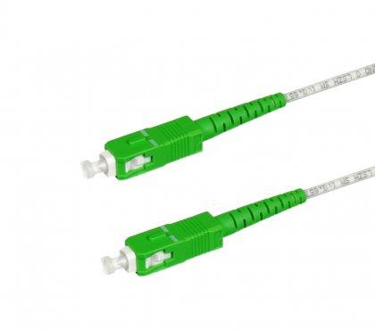Patchcord FTTH OPTI-BEND G.657A2 lub B3 SC/APC-SC/APC 60m