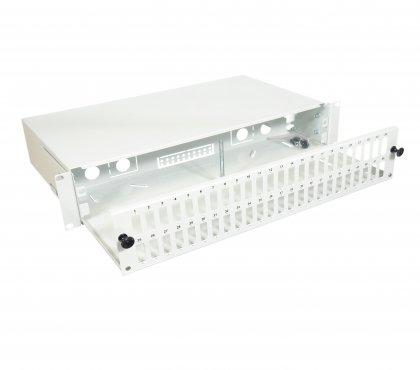 """Przełącznica FiberPanel-V 2U 19"""" 48SCDX"""