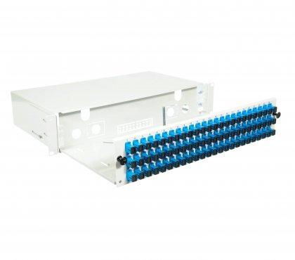"Przełącznica FiberPanel-V 2U 19"" 72SCSX"