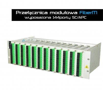 Przełącznica Modułowa FiberM -  144SC/APC SX