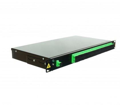 "Splitter PLC 1x64 1UHD 19"" SC/APC"
