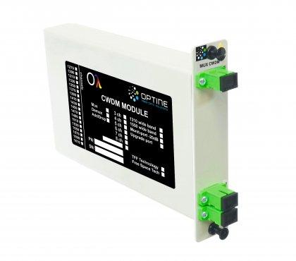 Filtr CWDM 1270, 1290...1450nm LGX SC/APC