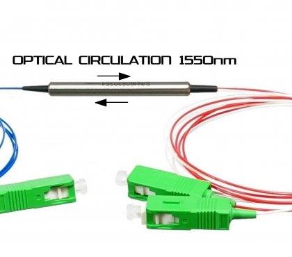 Cyrkulator optyczny 1550nm pipe SC/APC