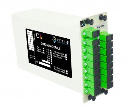 Mux DWDM 10 do 18ch LGX SC/APC