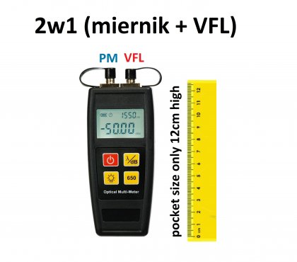 Kompaktowy miernik mocy + VFL - M55c
