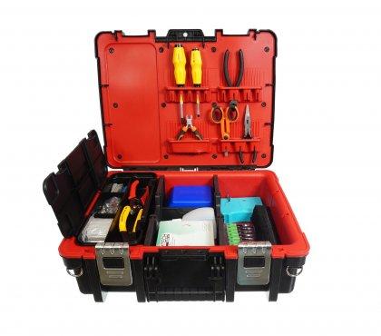Walizka narzędziowa dla spawacza światłowodów ABS