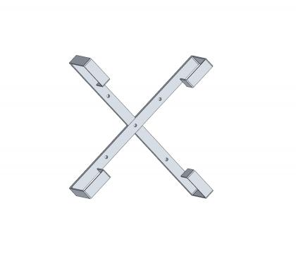 Stelaż zapasu kabla aluminiowy 50cm