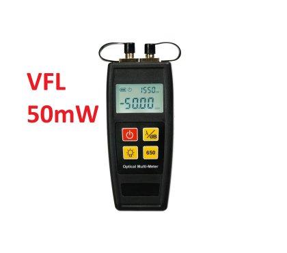 Kompaktowy miernik mocy + VFL - M55c  50mW